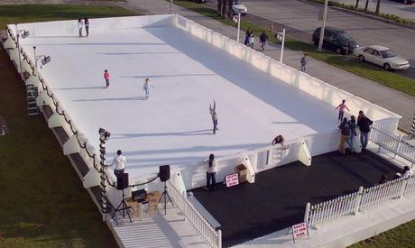 Public Synthetic Ice Skating